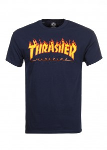T-Shirt Thrasher Flame Logo