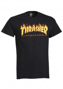 T-Shirt Thrasher Flame Logo