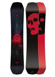 CAPITA Black Snowboard Of Death 156
